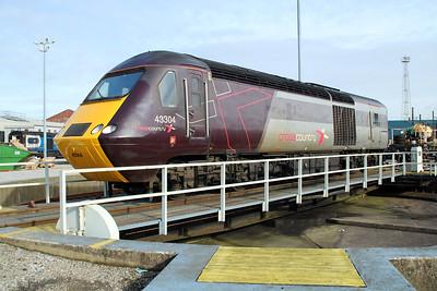 XC 43304 on Neville Hill's Turntable.