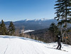 Bretton Woods ski area, view to Mt. Washington