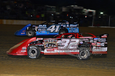 32 Bobby Pierce and 41 Josh McGuire