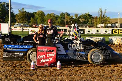 John Blankenship won the Red Buck Fast Time Award