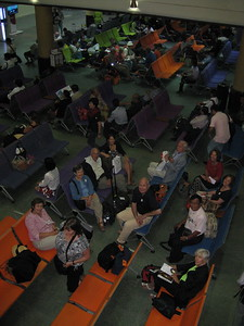 Waiting for flights at Yangon Airport, Burma - Johanna Frymoyer *12