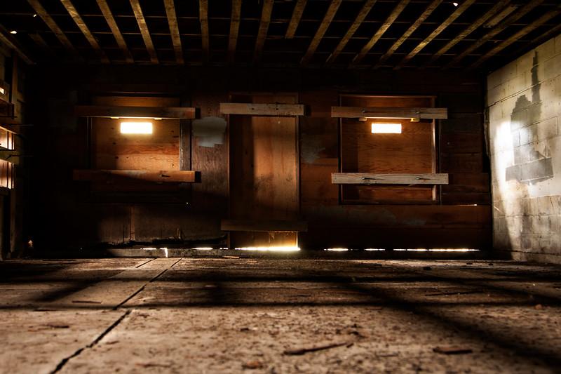 The interior.