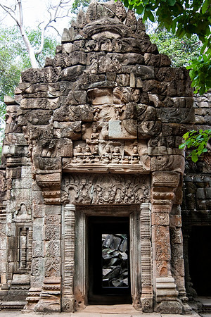 Ta Prohm, the same temple that was in Tomb Raider.