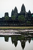 Angkor Wat as the day slowly chases away the night.