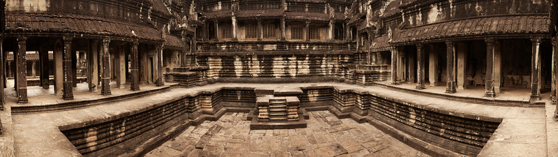 Evidently built hundreds of years ago when the greatest technology for moving heavy objects was elephants and ropes, the temples and structures of Angkor Wat are truly mind-blowing.