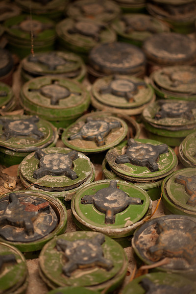 """Cambodia's Siem Reap hosts a small museum highlighting the efforts of a small group dedicated to the clean-up of the nation's minefields. Visit their website <a href=""""http://www.cambodianselfhelpdemining.org/"""" target=""""_blank"""">here</a> for more details."""