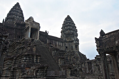 Temple towers.