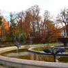 Castle, park & old city Olsztyn afternoon & night autumn 2013
