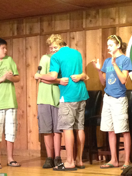 Hugs and love...so much love at this camp!