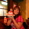 Gail was so sweet to surprise me with a cake!!!  My theme was Devil Princess....lol