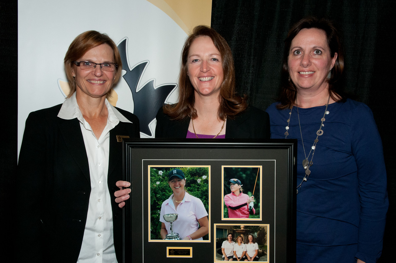 Senior Women Team Members Tammy Gibson, Rhonda Orr & Maria Funston