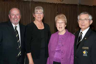 Breezy Bend members Cheryl Thobaben, Marion & Harvey Goehring & Kevin O'Donovan