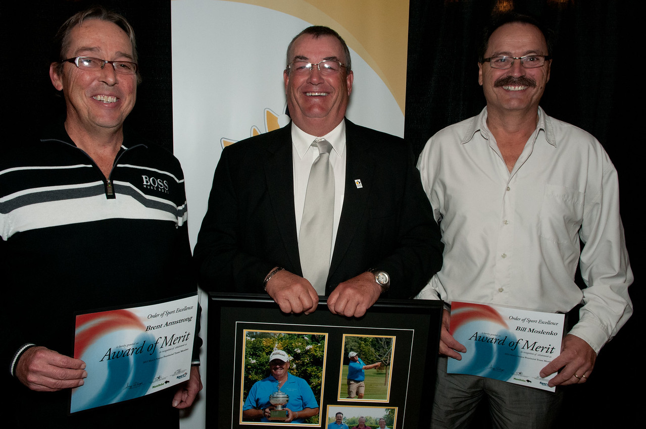 Senior Team Members Brent Armstrong, Garth Collings & Bill Moslenko