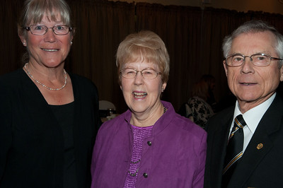 Breezy Bend members Cheryl Thobaben, Marion & Harvey Goehring