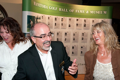 Board member Michelle Lee & Vince Mariani & Brenda Prystako