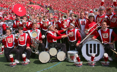 2013 Chancellor with the Band