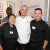 3022 Rebecca Chang, Chef Germain Biotteau, Jerry Navas