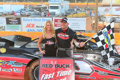 Steve Shaver won the Red Buck Fast Time Award
