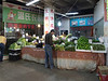 Another vegetable stall in the market