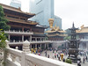 Courtyard from balcony, Jing'an Temple
