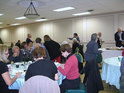 Choir Potluck Dinner 2013