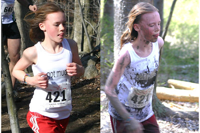 Kristina Dittrich of Bedford in 2007 Loop - before and after. Photo by Stacy Smith.