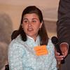 Kara Dorsey introduces 2013 award honoree Victoria Garloch at the Orange County Human Rights Commission 2013 Awards Dinner on Thursday, April 11, 2013. Hudson Valley Press/CHUCK STEWART, JR.