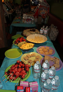Food spread.