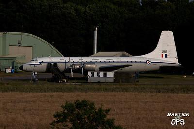 Bristol Britannia XM496