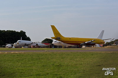 Scrapped Aircraft including Airbus A300, A320, A340 and Boring 737