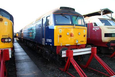 57003 Crewe Gresty Bridge.