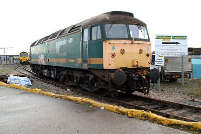 Basford Hall Super Shunter 47811 on the fuelling point.