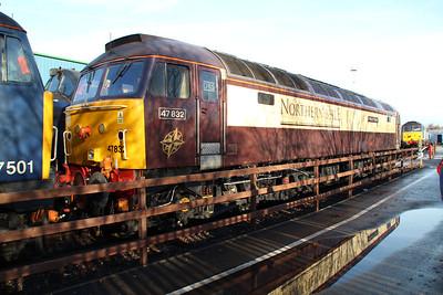 47832 'Solway Princess' Crewe Gresty Bridge.