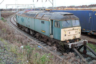 Stored 47816 in Basford Hall.