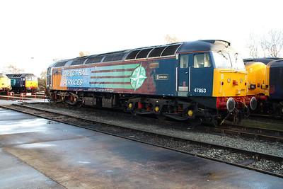 47853 'Rail Express' Crewe Gresty Bridge.