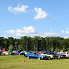 About 70 cars parked on the lawn to take part in the show for July.<br /> <br /> ©Sam Feinstein