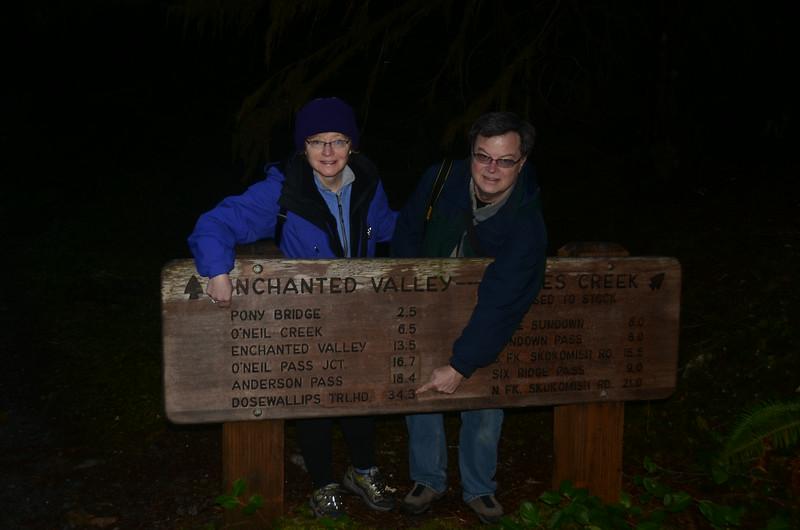 Olympics' Pony Bridge Trail