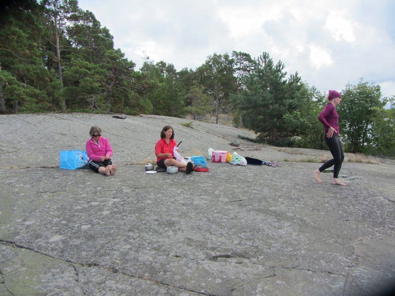 Marianne, Gina och Päivi