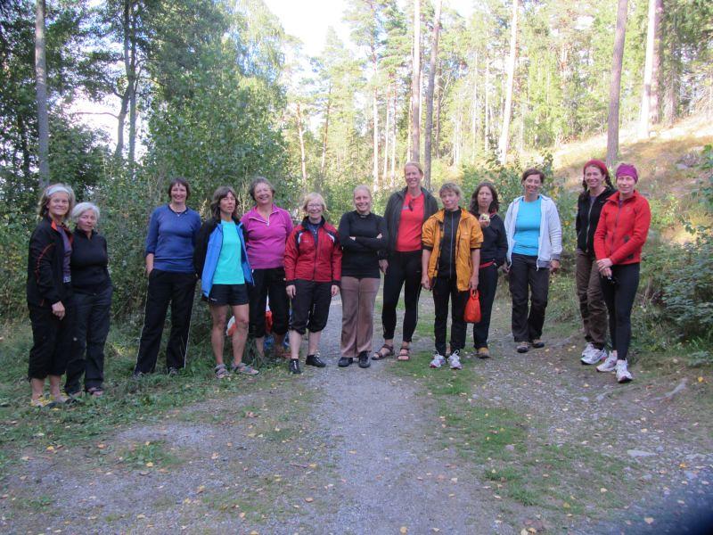 Ewa, Kerstin, Susanne, Rosemarie, Marianne, Eva, Liselotte, Janette, Anna, Gina, Pernilla, Stina och Päivi