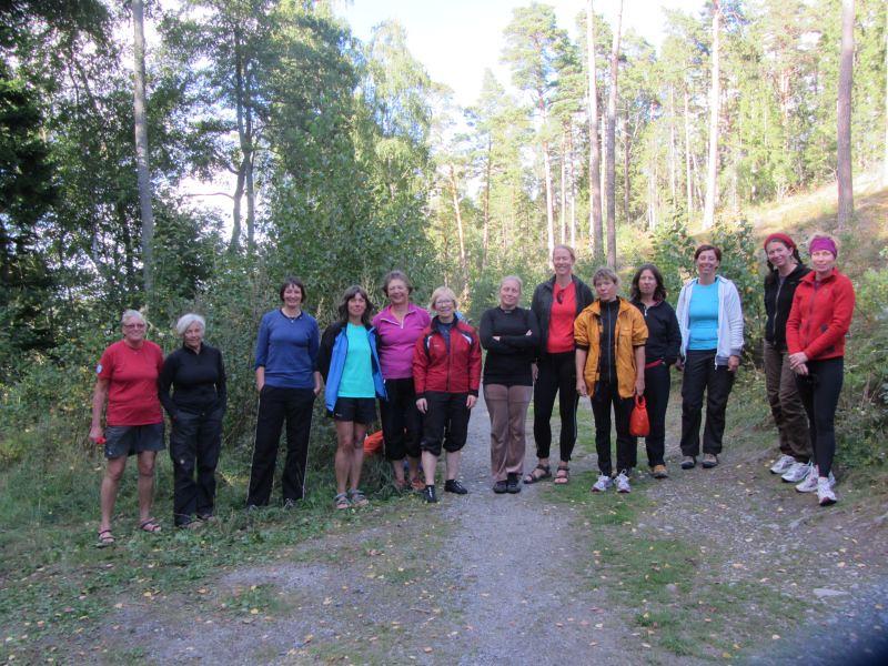 Anita, Kerstin, Susanne, Rosemarie, Marianne, Eva, Liselotte, Janette, Anna, Gina, Pernilla, Stina och Päivi