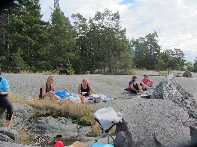 Janette, Liselotte, Stina och Pernilla