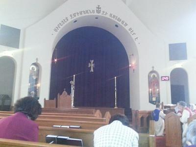 Deacon's Workshop at St. Stepanos 2013