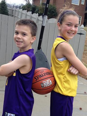 Dec. 14 (Quinn & Hailey Basketball Games)