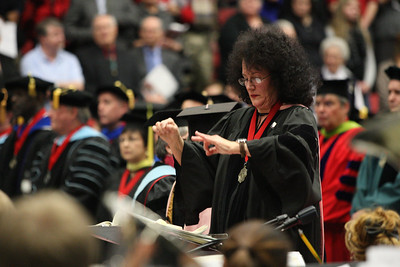 Afternoon Commencement Ceremony; Undergraduate and GOAL; December 2013.