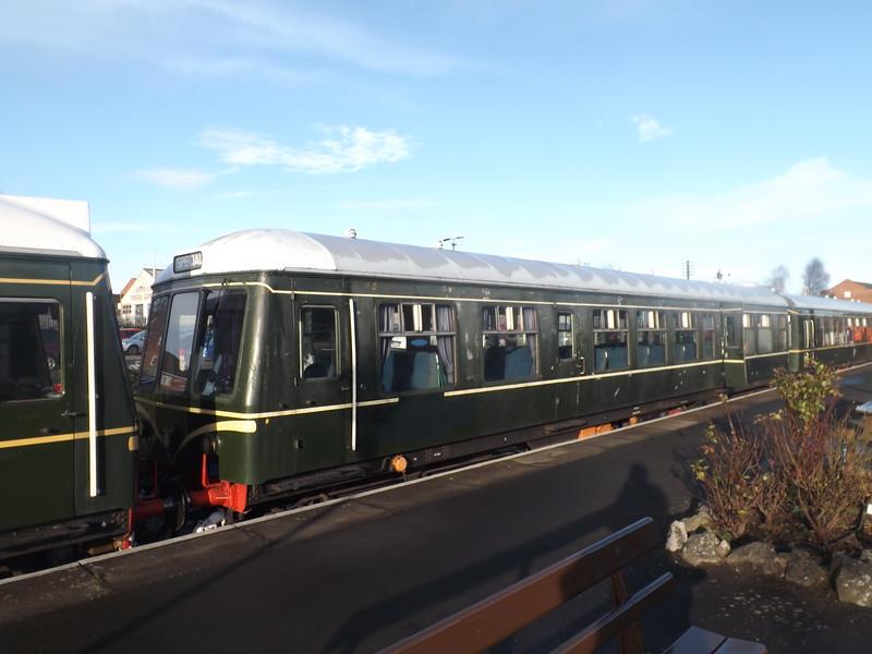 Class 108 driving trailer at Kidderminster.