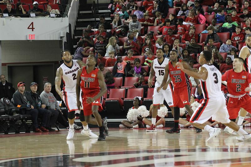 GWU Runnin' Bulldogs v. Georgia Bulldogs