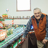 131126 Pendelton Trains JOED VIERA/STAFF PHOTOGRAPHER Lockport, NY- Martin Gilbert stands next to a huge display of model train sets that he and his family put together at the Pendleton Historical Society on Tuesday Nov 26th, 2013.