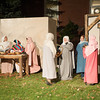 131206 Living Nativity JOED VIERA/STAFF PHOTOGRAPHER Newfane, NY-Actors perform  in the annual living nativity at Grace Bible Church on Friday Dec 6th, 2013. The living nativity will also be performed on December  8th, 13, and 15th