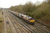 14 December 2013 :: 66221 passing Didcot with 6V13 from  Dollands Moor to Margam