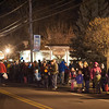 131206 Light up Newfane JOED VIERA/STAFF PHOTOGRAPHER Newfane, NY-A crowd watches the Light Up Newfane parade on Main Street on Friday Dec 6th, 2013.